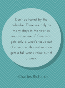 Don't be fooled by the calendar. There