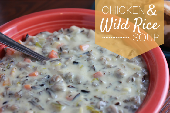 ChickenWild RiceSoup